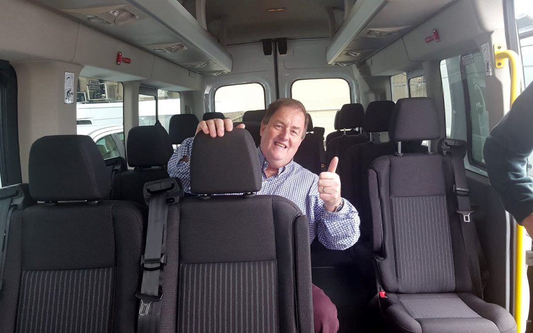 Andrew Walsh Bus Hire –  Celebrating 25 Years On The Road