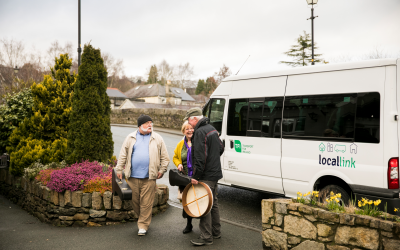 Daily morning commuter service from Borris-In-Ossory to Mount Lucas via Portlaoise