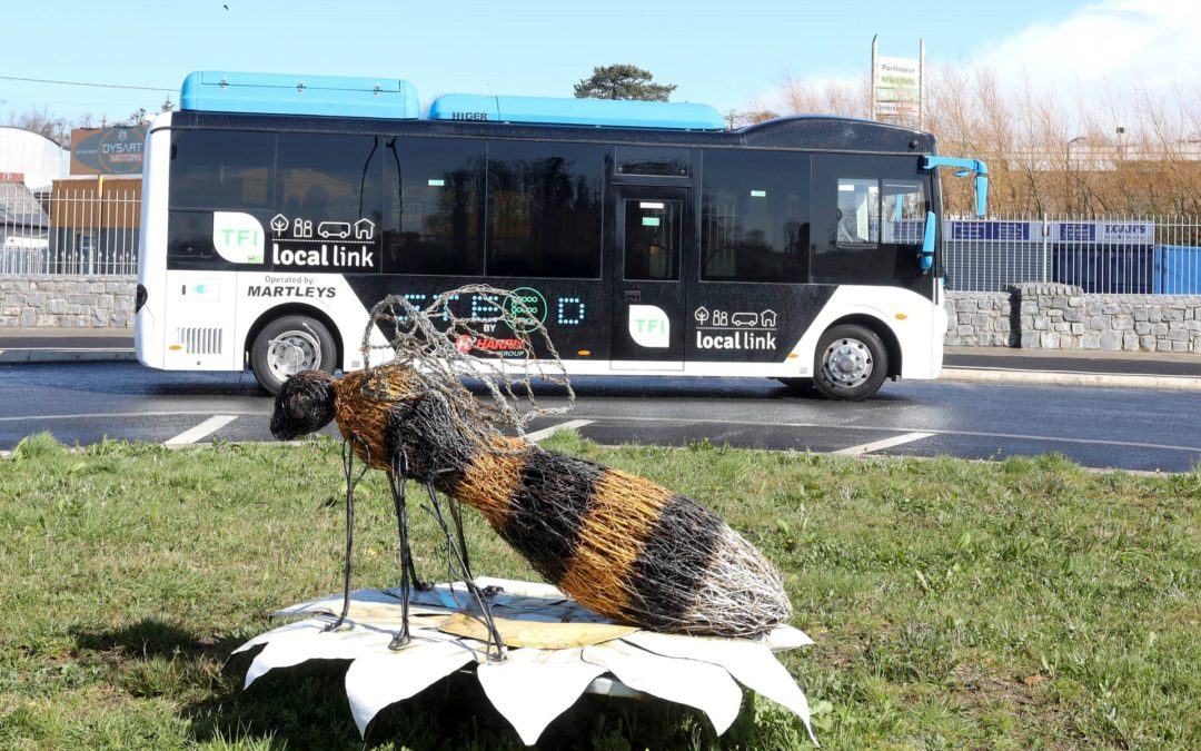 TFI LOCAL LINK LAOIS OFFALY LAUNCHES ITS FIRST ELECTRIC BUS